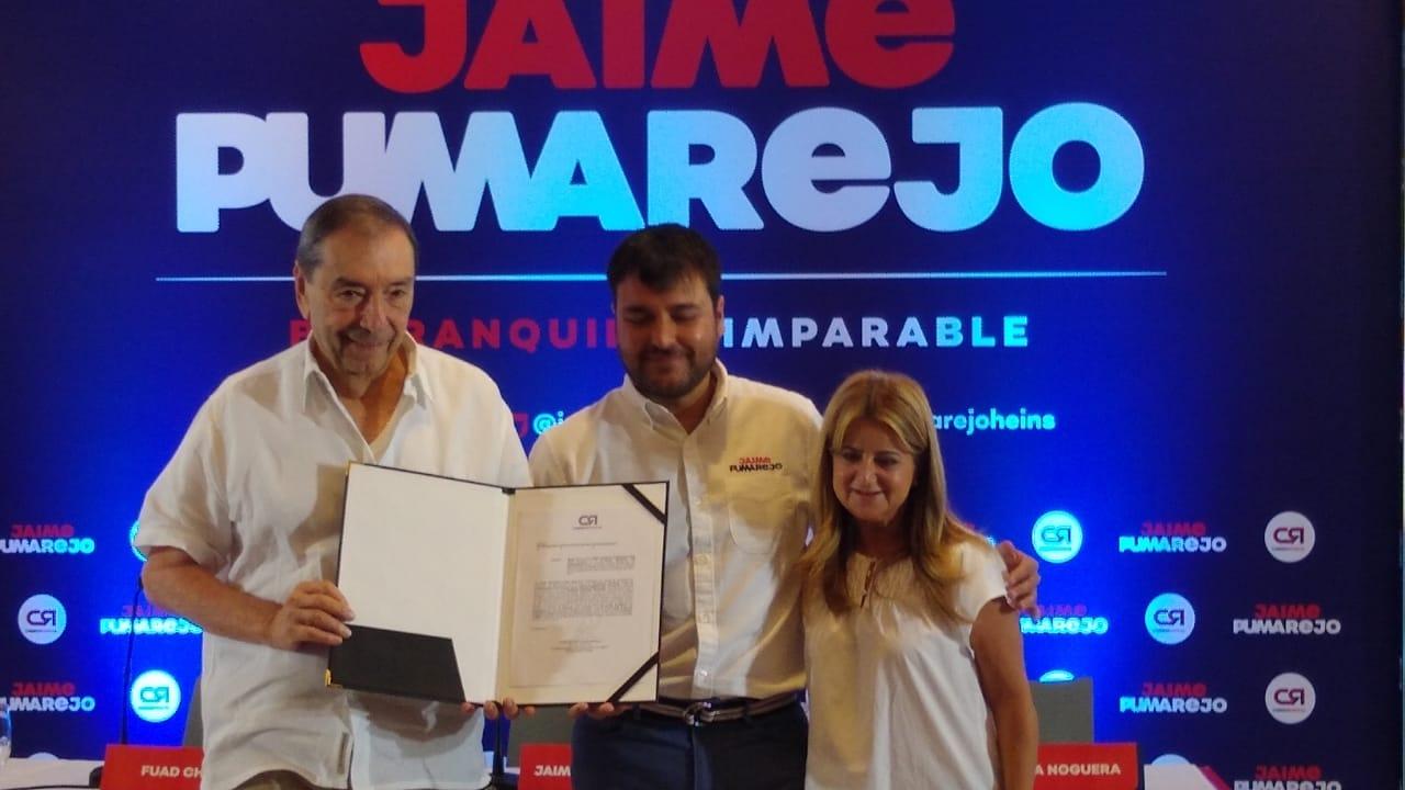 «Hoy me entregan la posta de una carrera en la que hemos recuperado la capacidad de soñar»: Jaime Pumarejo