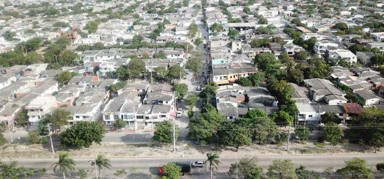 100 vías pavimentadas en 65 barrios le cambian la imagen a Soledad