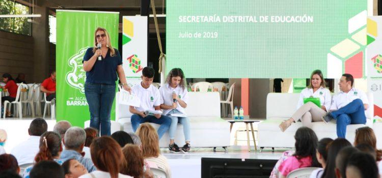 Barranquilla continúa transformándose con la educación