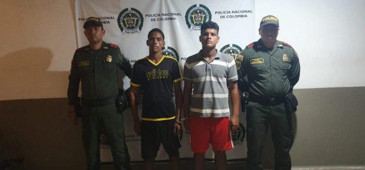 Los capturan en Candelaria tras robar  en una vivienda