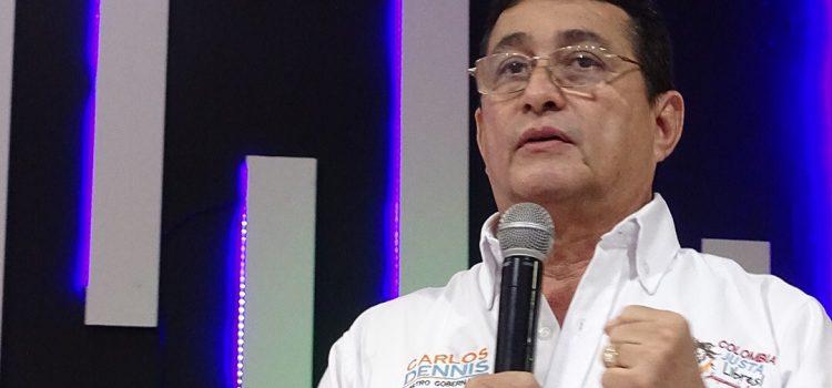 Carlos Dennis sigue firme con su candidatura a la Gobernación del Atlántico