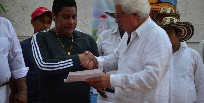 Con décimas y cumbia, Soledad le dio el último adiós al maestro Jorge Garizábalo