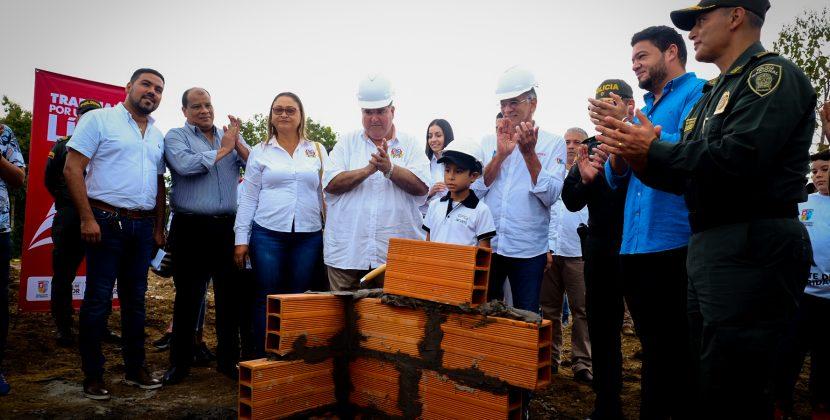 Gobernación pone en marcha obras del nuevo Comando Departamental de Policía en Sabanalarga
