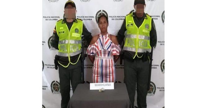 Capturan a mujer que camuflaba droga en su vagina para ingresarla a la cárcel