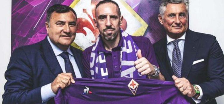 El francés Franck Ribéry nuevo jugador de la Fiorentina